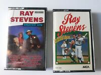 Vintage 1987 Ray Stevens Greatest Hits Volumn 1 and 2 Cassette Tape Comedy Music