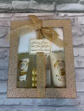 Luxury Slipper Foot Care Gift Set Limited Edition Gold Case