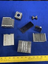 8 Small Cooling Fins Sci-fi Industrial Steampunk Metal Gears Parts Supplies