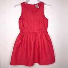 b324303cc0a6 Carter's Toddler Kids Red 2T Sleeveless Woven Spring Dress with Elastic  Waist