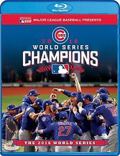 MLB: 2016 World Series - Chicago Cubs Vs. Cleveland Indians BLUE RAY (DVD, 2016)
