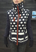 Strickjacke schwarz weiß Punkte N3 MARC CAIN Sports rot 38 gepunktet  EFFEKTVOLL