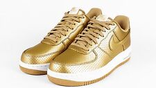 Nike Air Force 1 Low 07 LV8 Retro QS SZ 8 Metallic Gold Olympic USA 718152-700