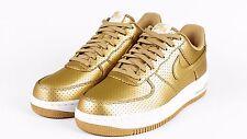 Nike Air Force 1 Low 07 LV8 Retro QS SZ 12 Metallic Gold Olympic USA 718152-700