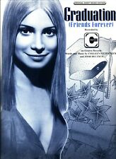 Vitamin C Graduation (Friends Forever) Sheet Music Piano/Vocal/Guitar/Chords New