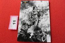Juegos taller Warhammer 40k 30th aniversario obras de arte Tarjeta Arte Nuevo Postal G7