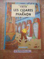 ELDORADODUJEU > BD - TINTIN LES CIGARES DU PHARAON - CASTERMAN 02/1984 BE+*