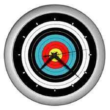 ARCHERY TARGET ARCHER WALL CLOCK ******FANTASTIC ITEM*****