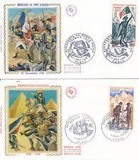 Frankrijk / France - 2 FDC's - Napoleon Bonaparte (1971)