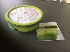 Micro Gourmet 101 Dampfgarer von Tupperware in grün Neu
