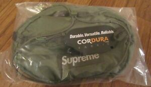 Supreme Waist Bag Olive FW20 FW20B10 Supreme New York 2020 Brand New DS