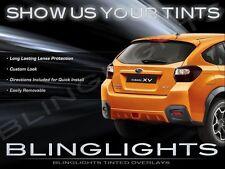 Subaru XV Crosstrek Tinted Tail Lights Overlays Smoked Lamps Film Protection Kit