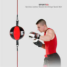 Sporteq® Double Ended Speed Ball MMA Kickboxing Floor to Ceiling Punching Bag