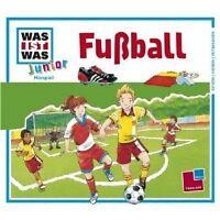 "WAS IST WAS JUNIOR ""FOLGE 12 FUSSBALL"" CD NEU"