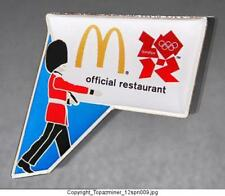 OLYMPIC PINS 2012 LONDON ENGLAND SPONSOR MCDONALDS OFFICIAL RESTAURANT PALACE GD
