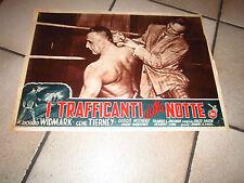 I TRAFFICANTI DELLA NOTTE Night and the City R. Widmark: TIERNEY Jules Dassin
