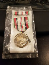 Afghanistan Campaign Service Medal and Ribbon - Full Size