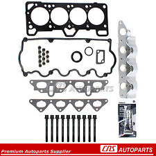 Fits 93-97 Hyundai 1.5L SOHC Accent Scoupe & Turbo G4E Head Gasket Set Bolt Kit