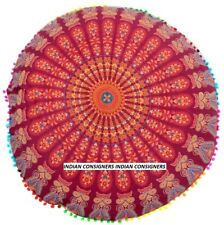 AAA+ Floor Cushion Cover Unique Design AAA+ Home Decor Mandala Style Ombre Boho