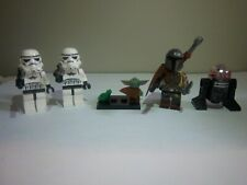 The Mandalorian Rescue Scene Baby Yoda Lego Frog vs Stormtroopers MOC minifigs