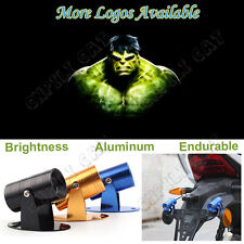 The Avengers 3D Hulk Logo Motorcycle Laser Projector CREE LED Ghost Shadow Light