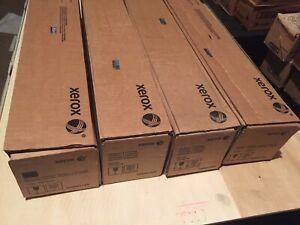 Xerox DocuColor 7000, 8000 SET Yellow Magenta Cyan Black