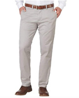 Tommy Hilfiger Mens Tailored Fit Chinos Pants Color: Gray-Tan Size:Variety
