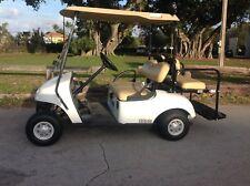 white 2014 ezgo ez-go 48v txt 4 seat Passenger golf cart car good condition