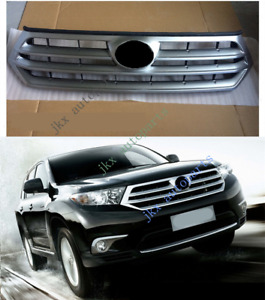 ABS Front Bumper Vent Center Grille Grill For TOYOTA Highlander 2011-2013