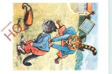 Picture Postcard_ Louis Wain, Cats Playing, Tas Collectables