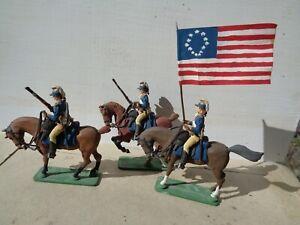 Imrie Risley, 2nd Continental Light Dragoons American Revolution, 54mm lead, JJ