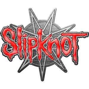 OFFICIAL LICENSED - SLIPKNOT - 9 POINTED STAR METAL PIN BADGE IOWA COREY