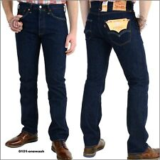 Levi's Herren's 501 Original Fit Straight Jeans - 36W/32L, Onewash