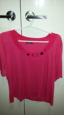 Vertice NZ designer plum Shirt Size 18