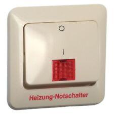 """PEHA Standard Wippe mit Aufdruck """"Heizung-Notschalter"""" D 80.642 V HN w weiß"""
