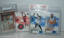 4 Basketball cards UD flight #rd. rookies 2 graded PSA Beckett Simmons maggette