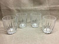 Marquis by Waterford Omega Double Old Fashioned Crystal Glasses, Set of Four