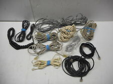 """Lot Of 12 Telephone Cords 7"""""""