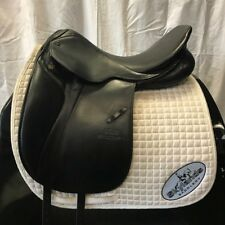 "Used Stubben Avalon Dressage Saddle - Size 18"" - Black"