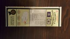 STATE FARM VIRGINIA AND WEST ROAD MAP RARE LAMINATED COLLECTIBLE 1996