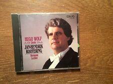 Wolf - Lieder [CD Album] CALIG /  Jan-Hendrik Rootering Hermann Lechler  1988