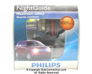 NEW Philips BC9706 9007 Night Guide Halogen 2-Pack 9007NGS2 Bulb