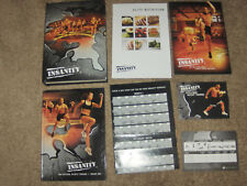 INSANITY 60 Day Total Body Workout Program Shaun T Beachbody 10 Dvd Discs, Plus