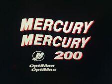 Mercury 2006 200hp Optimax Decal Kit  125 - 225 hp