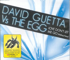 David Guetta Vs The Egg - Love Don't Let Me Go - CD Single Citroen C4 TV Advert