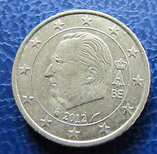 50 céntimos euros moneda Bélgica año de emisión 2012, de circulación, artículo de colección!