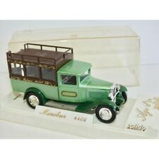 CITROEN C4F MINI BUS Vert PALACE HOTEL SOLIDO 1:43