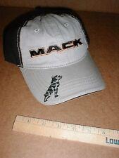 Mack Trucks Khaki licensed baseball cloth hat sewn truck logo