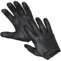 Leather Glove made with kevlar anti slash fire Resistant leather glove security