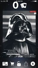 Topps Star Wars Digital Card Trader Iconic Characters Darth Vader Insert Award